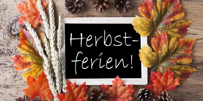 Ferienkurs in den Herbstferien ab 07.10.19 :)